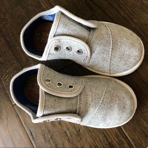 TOMS Light Grey Size 7 BRAND NEW!